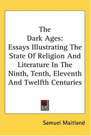 Cover of: The Dark Ages