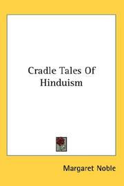 Cover of: Cradle Tales of Hinduism