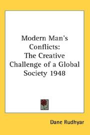 Cover of: Modern Man's Conflicts