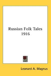 Cover of: Russian Folk Tales 1916