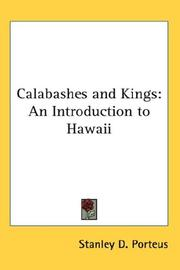 Cover of: Calabashes And Kings