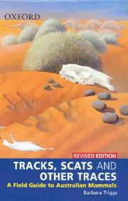 Cover of: Tracks, Scats and Other Traces | Barbara Triggs