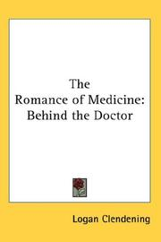 Cover of: The Romance of Medicine