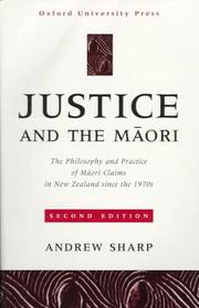 Cover of: Justice and the Māori