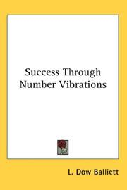 Cover of: Success Through Number Vibrations