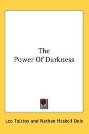 Cover of: The Power Of Darkness