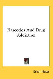 Cover of: Narcotics And Drug Addiction
