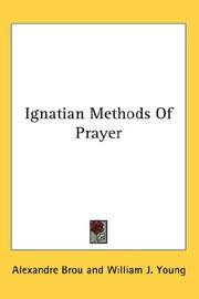 Cover of: Ignatian Methods Of Prayer