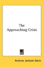 Cover of: The Approaching Crisis