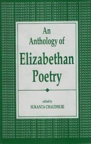 Cover of: An Anthology of Elizabethan Poetry
