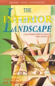 Cover of: Interior Landscape: Love Poems from a Classical Tamil Anthology (Oxford India Paperbacks)