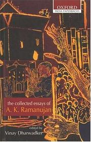Cover of: The Collected Poems of A.K. Ramanujan