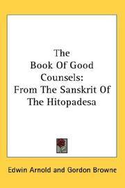 Cover of: The Book Of Good Counsels