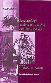 Cover of: Love and life behind the purdah