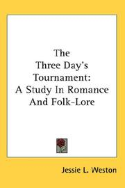 Cover of: The Three Day