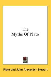 Cover of: The myths of Plato