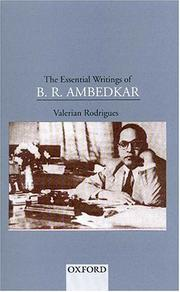 Cover of: The essential writings of B.R. Ambedkar