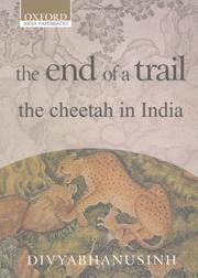 Cover of: end of a trail | Divyabhanusinh