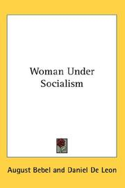 Cover of: Woman Under Socialism | August Bebel