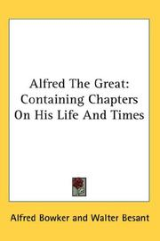 Cover of: Alfred The Great |