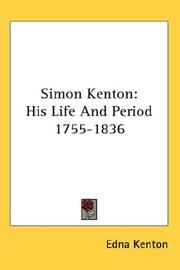 Simon Kenton by Edna Kenton