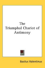 Cover of: The Triumphal Chariot of Antimony