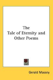 Cover of: Tale of Eternity and Other Poems