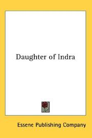 Cover of: Daughter of Indra | Essene Publishing Company