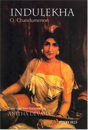 Cover of: Indulekha