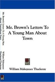 Cover of: Mr. Brown's letters to a young man about town