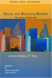 Cover of: Social and Religious Reform