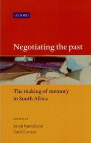 Cover of: Negotiating the Past |