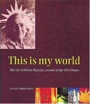 Cover of: This is my world | Sue Imrie Ross