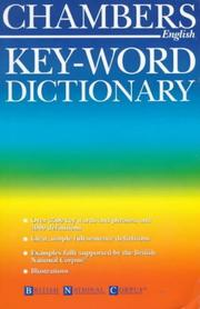 Cover of: Chambers Key-word Dictionary (Chambers)
