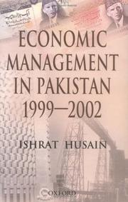 Cover of: Economic management in Pakistan, 1999-2002