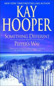 Cover of: Something Different/Pepper's Way