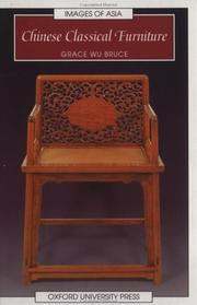 Cover of: Chinese classical furniture