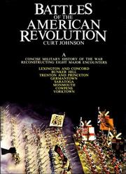 Cover of: Battles of the American Revolution