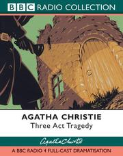Cover of: Three Act Tragedy