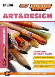 Cover of: Art and Design (GCSE Bitesize Revision) |