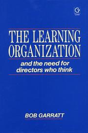 The learning organization by Bob Garratt