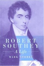 Cover of: Robert Southey