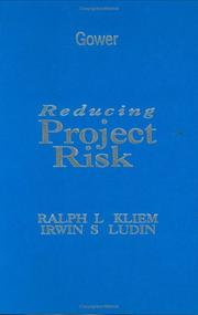 Cover of: Reducing project risk