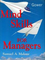 Cover of: Mind skills for managers