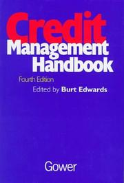 Cover of: Credit management handbook |