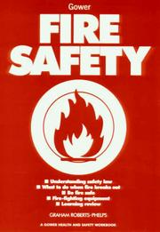 Cover of: Fire safety
