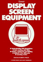 Cover of: Display screen equipment