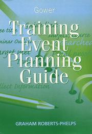 Cover of: Training event planning guide