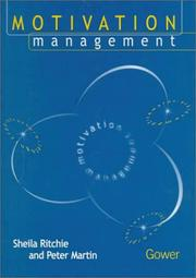 Cover of: Motivation management