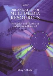 Cover of: Organization of multimedia resources